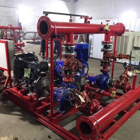 Saudi Efficiency Contracting Company | Al Faleh Fire System